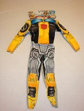 DISGUISE BUMBLEBEE BOYS CHILDS COSTUME TRANSFORMERS RESCUE BOTS NWT