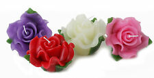 Large Rose Floating Candles for weddings / parties /etc variety of colours.