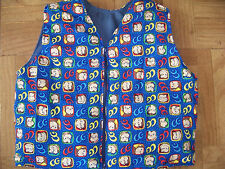 """Size 2-8 WEIGHTED 4 pd Vest """"CURIOUS GEORGE"""" autism ADHD behavioral SENSORY spd"""