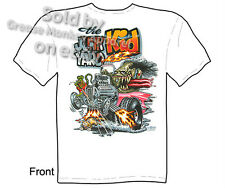 Junk Yard Kid Rat Fink T Shirt Hot Rod Clothing Ed Roth Tee Sz M L XL 2XL 3XL