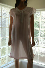 VINTAGE SOFT SHEER NYLON NIGHTGOWN IN COLORS & SIZES, BY CAROLE