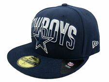 New Era NFL 59FIFTY Dallas Cowboys (On Field Draft) Fitted Cap - Free UK P&P