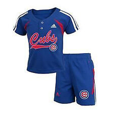 Chicago Cubs INFANT / TODDLER / CHILD Jersey & Shorts Set by Adidas
