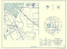CITIES IN DALLAS COUNTY TEXAS BY THE TX STATE HWY DEPT. 1936