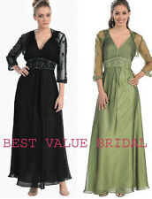 5 COLOR FORMAL OCCASION MOTHER OF THE BRIDE/ GROOM DRESS EVINING M/ 5XL +Plus