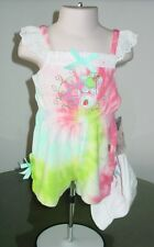 NWT Flapdoodles Tie-Dye Romper Outfit 12M 18M