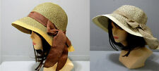 Gorgeous Summer Bucket Hat Fashion Bow Sun Paper Stylish Chic Cute New Trend
