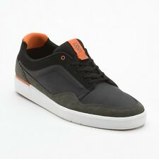VANS LXVI Inscribe Trainers/Sneakers/Deck/Skate Shoes Black/Orange UK 6