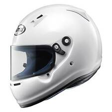 Arai CK-6 Karting Race Helmet / Lid - CMR 2007 In White