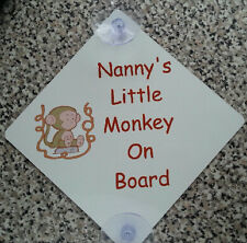 PERSONALISED Baby*Child On Board CAR SIGNS*METAL*YOUR PHOTO / TEXT*ANY DESIGN*