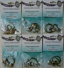 Bead Bracelet Assorted Finding Wire Crimp Swarovski Crystal Heart Rhinestone Kit