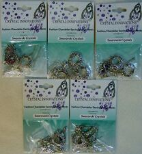 Bead Earring Assorted Findings Kit Swarovski Rhinestone Teardrop GoGo Chandelier