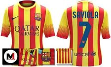 *13 / 14 - NIKE ; BARCELONA AWAY SHIRT SS / SAVIOLA 7 = KIDS & JUNIOR SIZE*