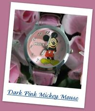 """#446 Classic Mickey Mouse & Minnie Mouse Wristwatches """"Pick Your Favorite Style"""""""
