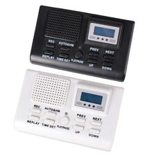 220V LCD Digital Telephone Recording Box with SD Card Slot Phone Voice Recorder