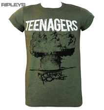 Official T Shirt MY CHEMICAL ROMANCE Khaki Green Teenagers All Sizes