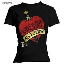 Official Skinny T Shirt ALICE COOPER School's Out All Sizes