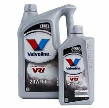 Valvoline VR1 20W50 Mineral Race/Rally/Racing Oil