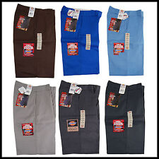 "Dickies Men's Loose Fit 13"" Uniform/ Work Shorts with Cellphone Pocket 42283"