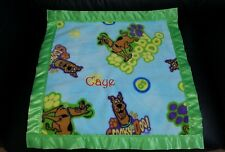 Scooby Doo Personalized Fleece Blanket Handmade Custom made Memory Blankets