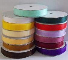 10 feet of satin organza ribbon 3mm, 16mm, 25mm for wedding day gifts decoration