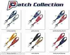 OFFICIALLY LICENSED NFL TEAMS LOGO KEY CHAIN STRAP 2-SIDED LANYARD BY WINCRAFT