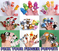 ONE PACK Finger Puppet,Plastic / Plush,Baby Toy,Kids,Party Bag Gift Props Supply