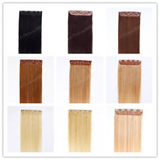 """24"""" Indian Remy Human Hair One Piece Volumizer Clip In Extensions 60g,15 colors"""