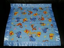 Handmade Winnie the Pooh Personalized Cotton & Fleece Blanket in Different Sizes