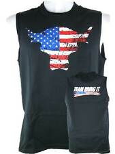 The Rock Team Bring It USA Sleeveless Muscle T-shirt Black