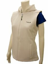 RRP £32 LADIES REGATTA LIBBY WARM BACKED SOFTSHELL BODYWARMER WHITE SIZES 10-20