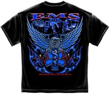New Black EMS Beyond the call of Duty  T-Shirt