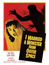 I Married a Monster From Outer Space Movie Print - Framed & Memo Board Available