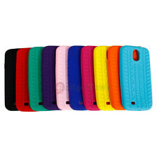 Lot Colors Tire Tread Soft Gel Silicone Case Cover for Samsung Galaxy S4 i9500
