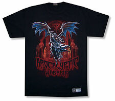 """WWE WRESTLING THE UNDERTAKER """"APOCALYPTIC"""" WARRIOR BLACK T-SHIRT NEW OFFICIAL"""