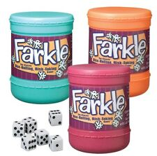 1 (You Pick Color) Farkel Farkle Dice Cup Version Ages 8+ Family Classroom Game