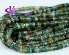 Wholesale India Agate Fancy Jasper Tube Loose Bead Barrel Column Wheel Beads