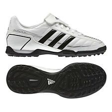 a44a07db110451 New Boys Adidas Puntero White TF Sports Football Astro Boots Trainers Size  10-5
