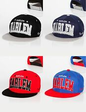 New Raw Blue Harlem Snapback New York Bronx Brooklyn Queens hip hop Cap nice Neu