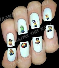 Stickers pour ongles moi moche et méchant halloween / body art manucure nails