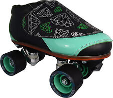 Quad Speed Jam Roller Skates 4-13 - Vanilla Diamond Walker Pro Gorilla Tiffany