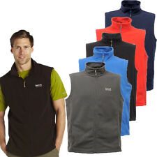 RRP £14.99 MENS REGATTA FULL ZIP FLEECE BODYWARMER SIZES M-XXXL Tbs