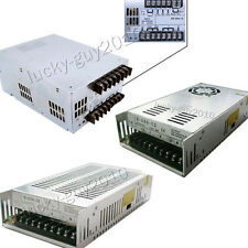 12V 20A 29A 40A Power Supply Converter Adapter 250W 350W 500W Aluminum Switching