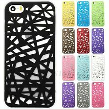 Hollow Bird Nest Pattern Hard Back Phone Case Cover For Apple iPhone 5 5s