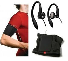 Philips Sports-Gym Bundle, Flexible Headphones + Armband for MP3 and Smartphones