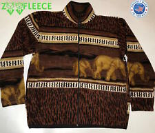 POLAR FLEECE ELEPHANT SAFARI JACKET WARM SOFT THERMAL NEW WATER RESSITANT
