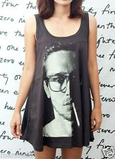 John Frusciante Red Hot Chili Peppers WOMEN T-SHIRT DRESS Tank Top Vest Size M L