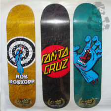 SANTA CRUZ - Skateboard Deck / Clock - 40th anniversary Ltd editions