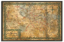 The Hobbit Map Of The Shrine Wall Poster New - Laminated Available