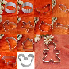 Holiday Party Baking Sugar Biscuit Cookie Cutter Mould Mold Tool Aluminium Alloy
